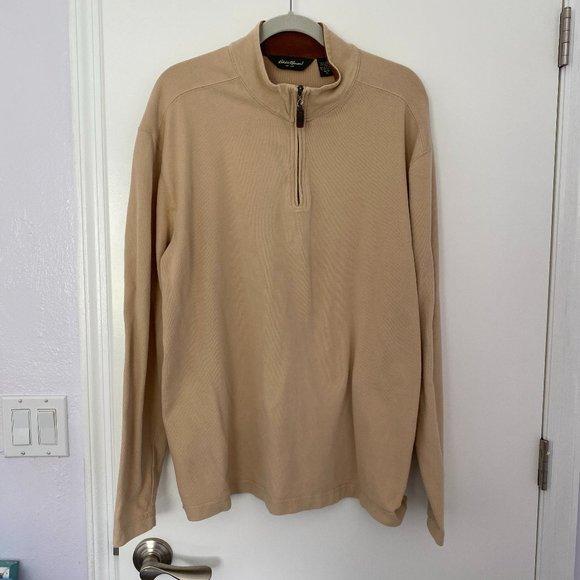 Eddie Bauer Pullover with Zipper - Men's XL